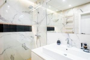 wyremontowana łazienka w mieszkaniu w krakowie